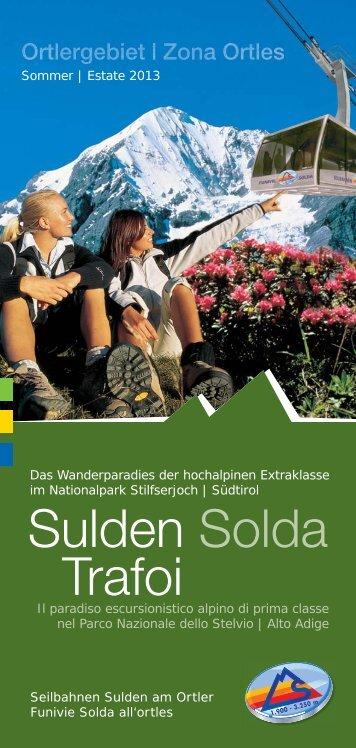 RZ|Preisliste So 2013-SBS.indd - Seilbahnen Sulden