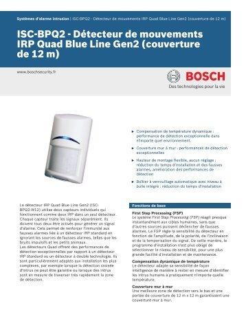 ISC-BPQ2 - Détecteur de mouvements IRP Quad Blue Line Gen2 ...