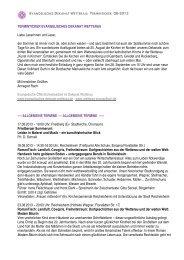 EV 8-2013 - Evangelisches Dekanat Wetterau