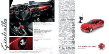 ALFA ROMEO GIFT IDEAS
