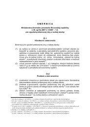 Smernica pre výpočet prielomovej vlny z vodnej stavby
