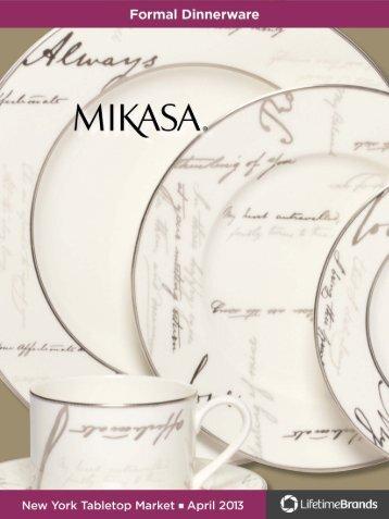 Mikasa® Love Story Rose - Lifetime Brands
