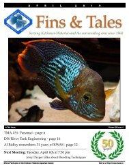 April 2010 - Kitchener Waterloo Aquarium Society