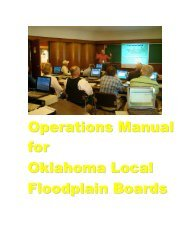 Operations Manual for Oklahoma Local Floodplain Boards - Water ...