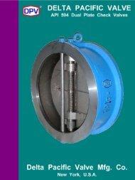 DPV® API 594 Dual Plate Wafer Check Valves - DELTA PACIFIC ...