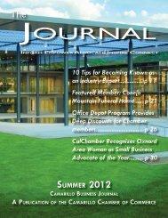 Summer 2012 - Camarillo Chamber of Commerce