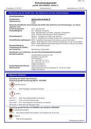 Sicherheitsdatenblatt QuiTex Color 7032 bs ... - via-Dachteile