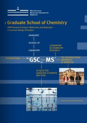 GSC MS - Westfälische Wilhelms-Universität Münster