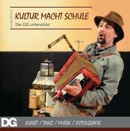 KULTUR MACHT SCHULE - DG Bildungsserver - Home