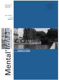 Mental'idées n°11 - Ligue Bruxelloise Francophone pour la Santé ...