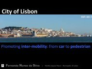 Promoting inter-mobility: From car to pedestrian - EcoMobility ...