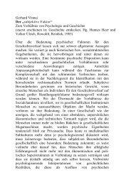 """Gerhard Vinnai Der """"subjektive Faktor"""" Zum Verhältnis von ..."""