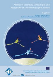 Mobility of Secondary School Pupils and Recognition of ... - Poliglotti 4