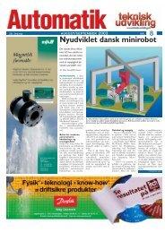 Nyudviklet dansk minirobot - Teknik og Viden