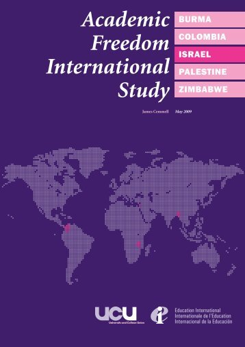 Academic Freedom International Study - UCU