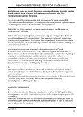 REKORDBESTEMMELSER FOR SVØMNING - Dansk Svømmeunion - Page 3