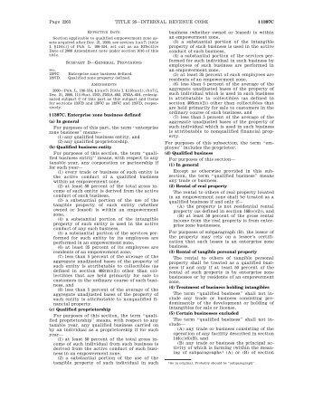Page 2263 TITLE 26—INTERNAL REVENUE CODE ... - Justia