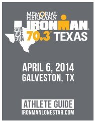 2014 texas 70 3 athlete guide