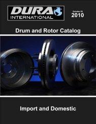 DuraGo BP451 C Front Ceramic Brake Pad