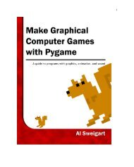 chapter 2 - Invent Your Own Computer Games with Python