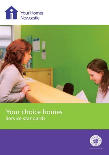 Your choice homes   Your Homes Newcastle. a full copy of the NFS Service Standards   Your Homes Newcastle