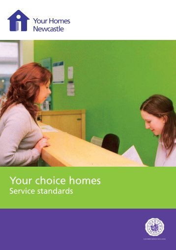 Your choice homes - Your Homes Newcastle