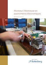 Monteur/Monteuse en assortiments électroniques - Fondation ...