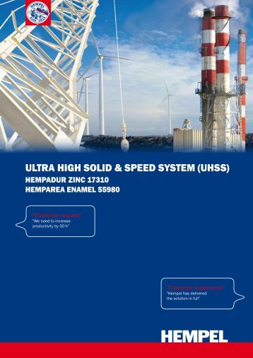 ultra HigH Solid & Speed SyStem (uHSS) - Hempel