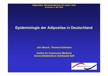 Epidemiologie der Adipositas in Deutschland - Adipositas MV