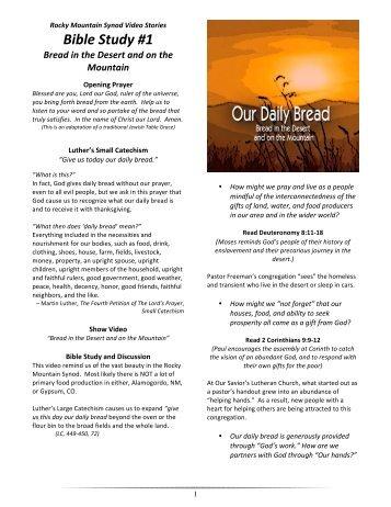 Elca bible study guides