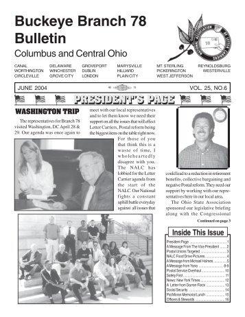 Br 78 June 2004 - NALC Branch 78