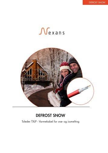 DEFROST SNOW, Brosjyrer (1212 kB) - Nexans