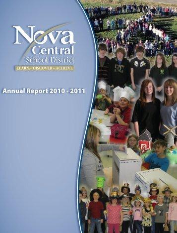 Annual Report 2010 - 2011 - Nova Central School District