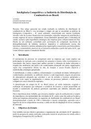 Inteligência Competitiva e a Indústria de Distribuição de ...