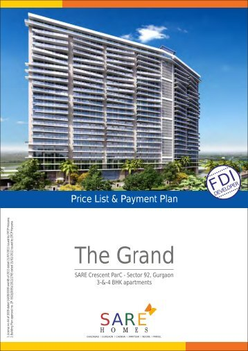 The Grand price list - Commonfloor.com
