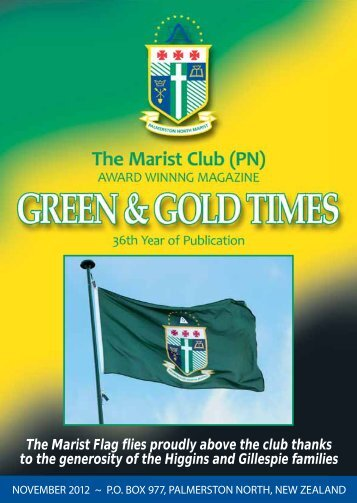 Green and Gold November 2012 - Website Design coming soon...