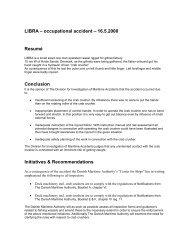 LIBRA - Danish Maritime Authority