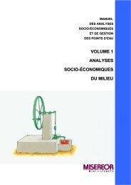 volume 1 analyses socio-économiques du milieu - ACT - Advanced ...