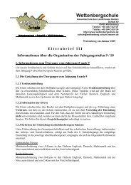 Elternbrief III 08-09 - Gesamtschule Gleiberger Land