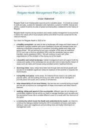 Reigate Heath Management Plan 2011 - Reigate and Banstead ...