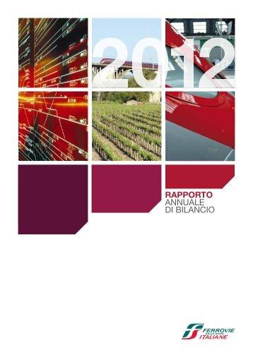 RAPPORTO ANNUALE DI BILANCIO - Ferrovie dello Stato Italiane