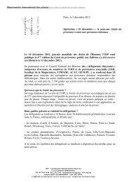 Opération 10 décembre - Ligue des droits de l'Homme