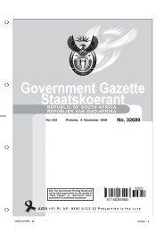 Government Gazette Staatskoerant - Biodiversity GIS