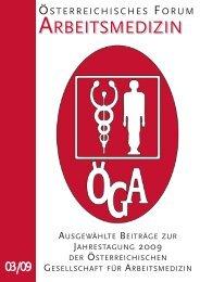 ausgewählte Beiträge - Österreichische Gesellschaft für ...