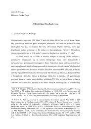 Al-Kindi i jego filozofia pierwsza (Marek Prokop) - katedra.uksw.edu.pl