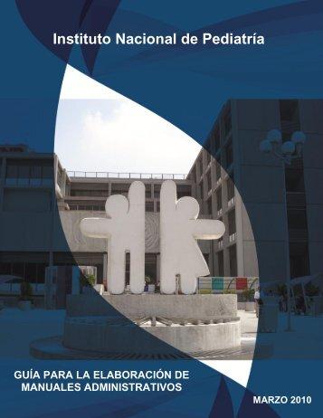 Guía Para La Elaboración de Manuales Administrativos en el INP