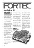 Geschäftsbericht 2010/11 - Fortec AG - Page 6