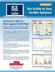 EZ Series® In-Site® CL Data Logging Control Panel - SJE Rhombus