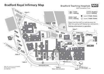 Bradford Royal Infirmary Map Mapbradford Magazines Bradford Royal Infirmary Map