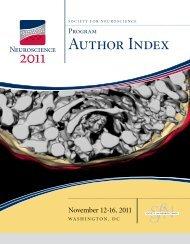 Author Index - Society for Neuroscience